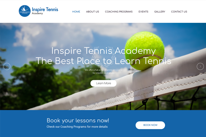 Inspire Tennis Academy was founded by Sahil, a professional tennis player and coach, who is highly experienced and has dedicated almost his entire life to the sport.